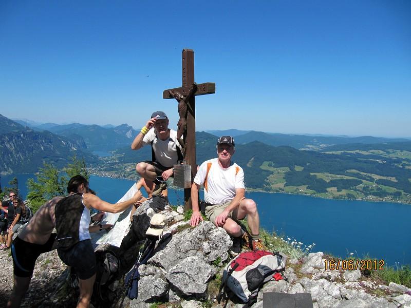 Klettersteig Attersee : Geführter exklusiver klettersteig am attersee für personen